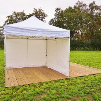 Bos Verhuur Partytent huren tent Pop up 3x3 meter wit
